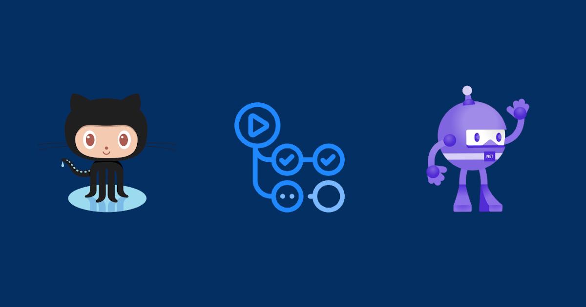 Octocat + GitHub Action + dotnet bot